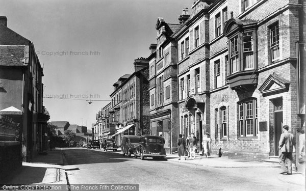 Photo of Bangor, High Street c.1955