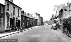Bangor-Is-Y-Coed, High Street c.1955