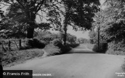 Bangor-Is-Y-Coed, Overton Road c.1955