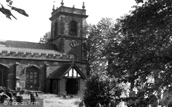 Bangor-Is-Y-Coed, St Dunawd's Church c.1955