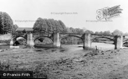 Bangor-Is-Y-Coed, The Bridge c.1955