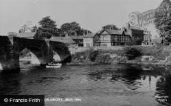 Bangor-Is-Y-Coed, The Bridge c.1955