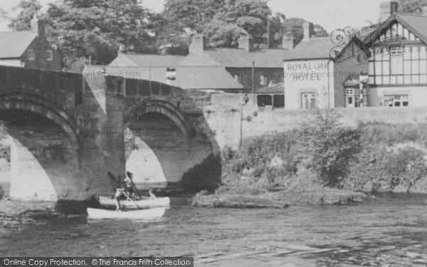 Photo of Bangor Is Y Coed, The Royal Oak Hotel c.1955
