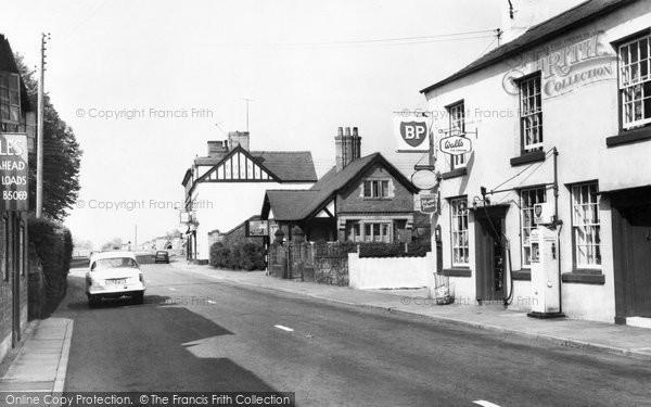 Photo of Bangor Is Y Coed, Village c.1955