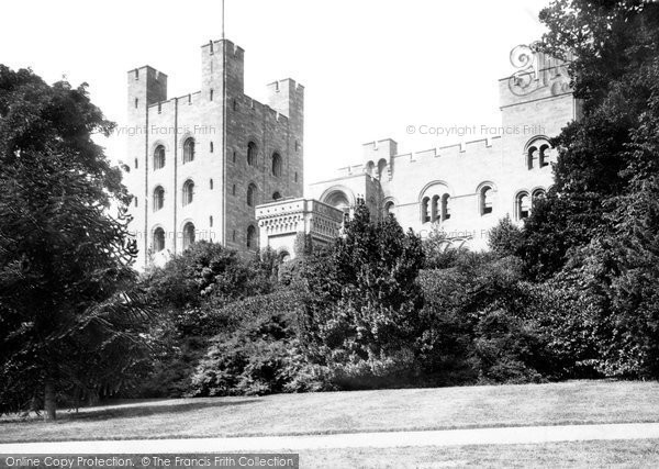 Llandygai, Penrhyn Castle 1890