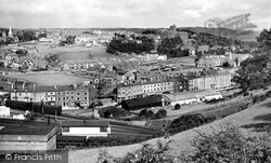Bangor, Railway And Town 1930