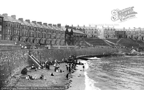 Photo of Bangor, Sands 1897