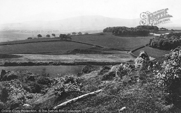 Photo of Bangor, Snowdon Range 1891
