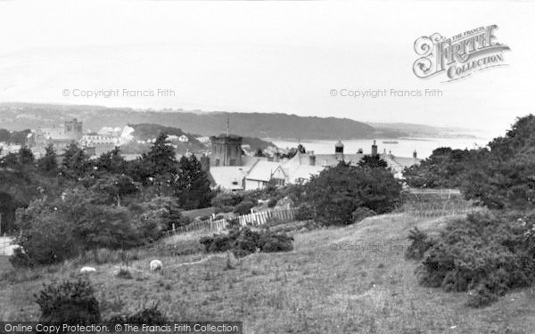 Photo of Bangor, St Mary's College And Menai Straits 1937