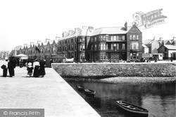 Bangor, Terraces 1897