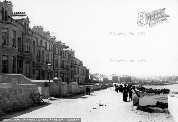 Photo of Bangor, Terraces From East 1897