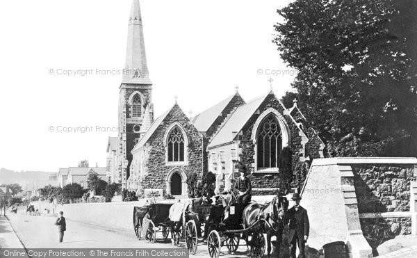 Photo of Bangor, The Church 1890