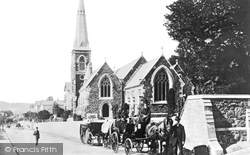 Bangor, The Church 1890