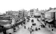 Bangor, The Esplanade 1897