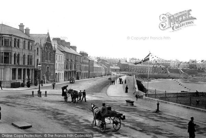 Photo of Bangor, The Esplanade 1897