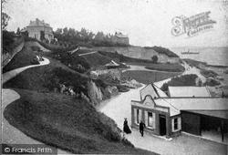 Bangor, The Marine Gardens c.1900