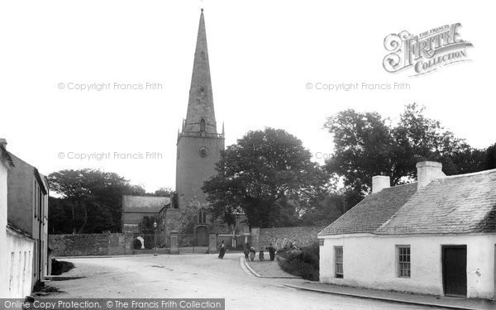 Photo of Bangor, The Old Church 1897