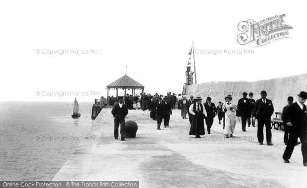 Photo of Bangor, The Pier 1897