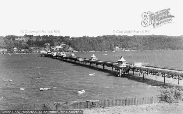 Photo of Bangor, The Pier c.1950