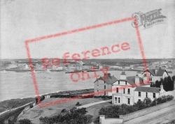 Town And Bay From Mornington Park, Princeton c.1895, Bangor