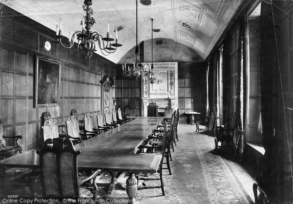 Photo of Bangor, University College, Council Chamber 1911