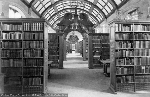 Bangor, University College Library 1911