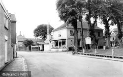 Banham, Post Office And Green c.1955