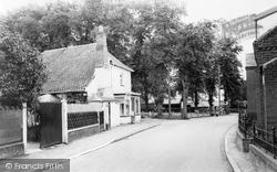 Banham, Post Office And Green c.1960