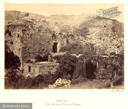 Banias, The Ancient Caesarea Philippi 1857