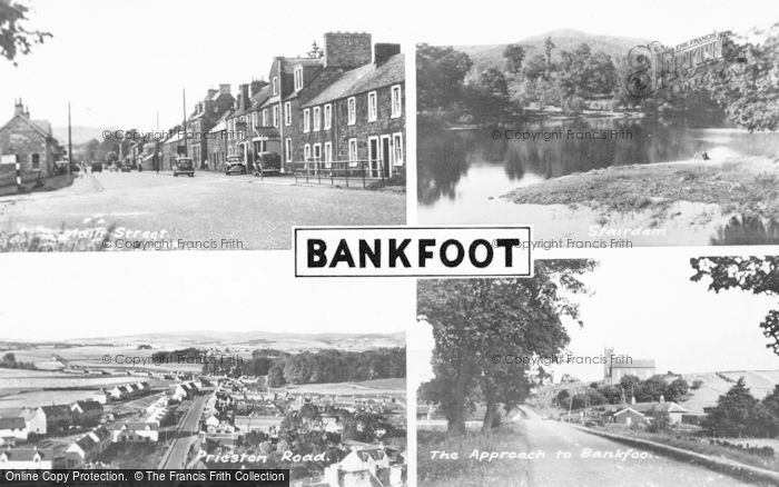 Photo of Bankfoot, Composite c.1950