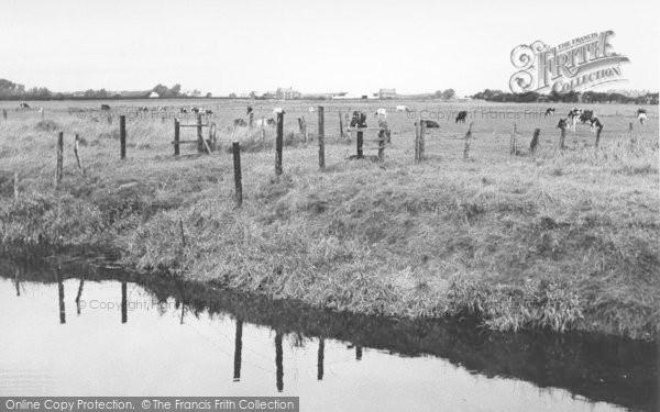 Photo of Banks, From The Sluice Bridge c.1955