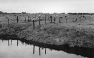 Banks, From The Sluice Bridge c.1955