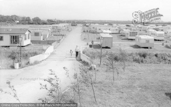 Photo of Banks, Riverside Caravan Holiday Centre c.1965