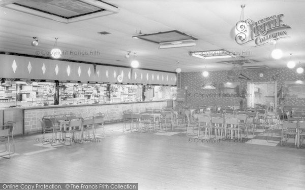 Photo of Banks, Riverside Caravan Holiday Centre, The Club Bar c.1965
