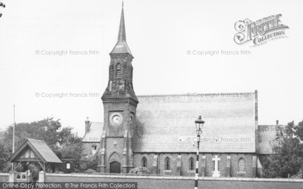 Photo of Banks, The Church c.1955