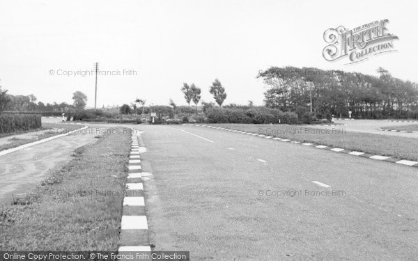 Photo of Banks, The Main Road And Roundabout c.1955