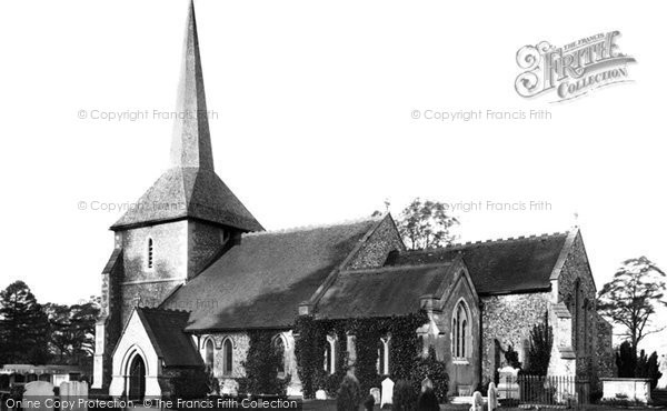 Photo of Banstead, All Saints Church 1890
