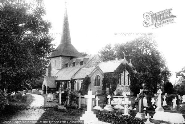 All Saints Church, Banstead, 1903. Reproduced courtesy of The Francis Frith Collection