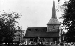 Banstead, All Saints Church c.1960