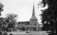 Banstead, All Saints Church c.1965