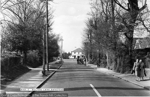 Banstead, Bolters Lane c.1955