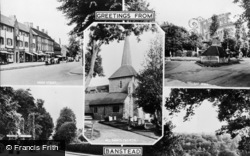 Banstead, Composite c.1955