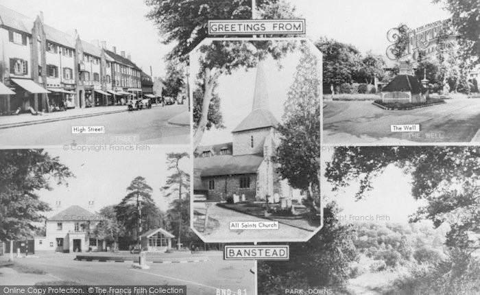 Photo of Banstead, Composite c.1960