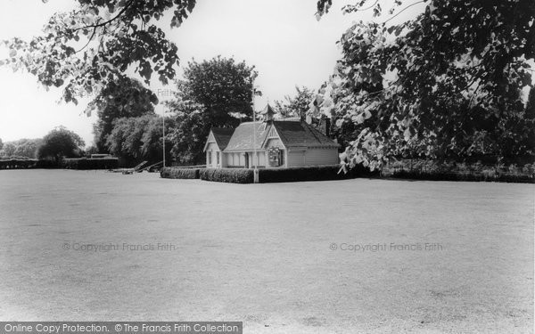 Photo of Banstead, Cricket Clubhouse c.1965