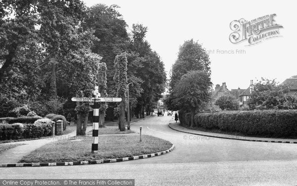 Photo of Banstead, Garratts Lane c.1955