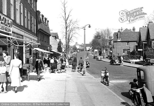 Photo of Banstead, High Street c.1955