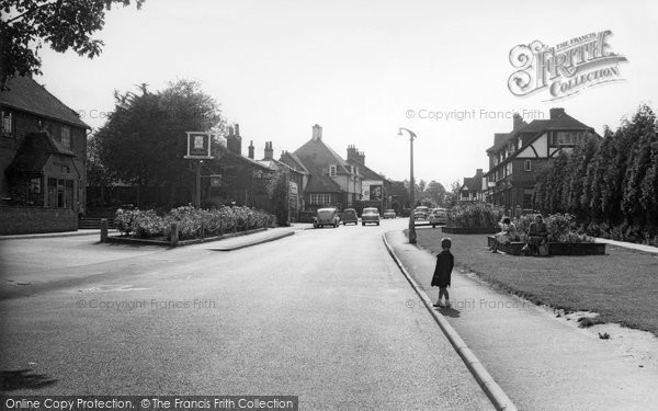 Photo of Banstead, High Street c.1960