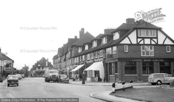 Photo of Banstead, High Street c.1965