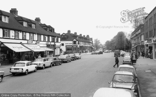 Photo of Banstead, High Street c1965