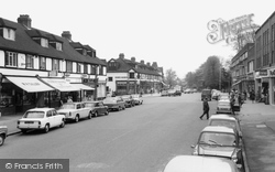 Banstead, High Street c.1965